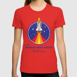 Dave Kennedy Space Center by Ryan Webert T-shirt
