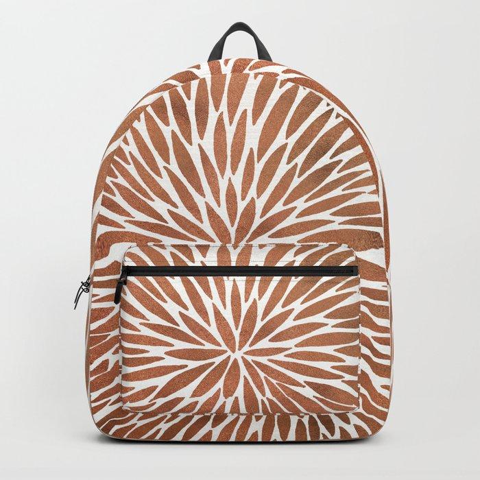 Rose Gold Burst Backpack