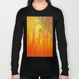 Aflood with gold and rose Long Sleeve T-shirt