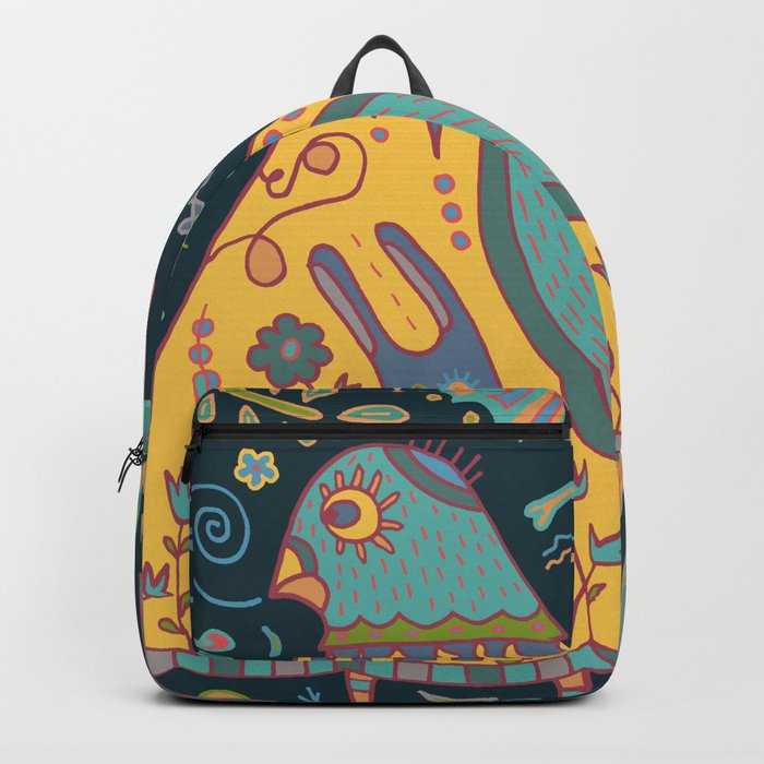 Chatty Yellow Bird Backpack