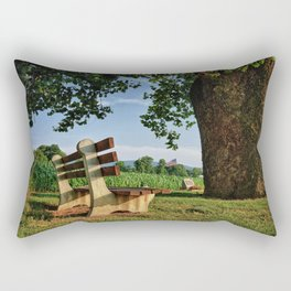 Sacred Great American Sycamore by Ted Van Pelt Rectangular Pillow