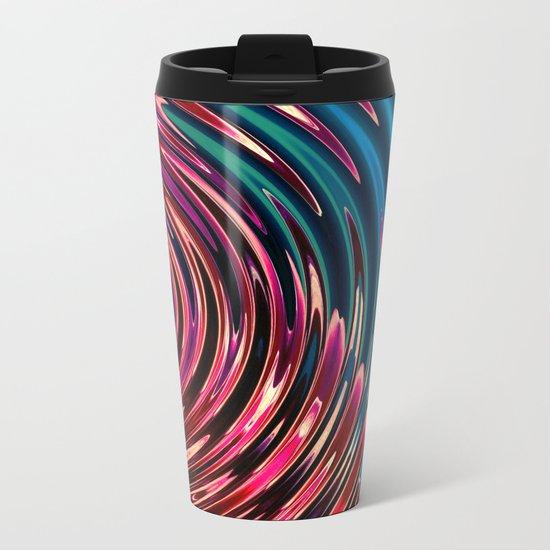 Ripple Metal Travel Mug