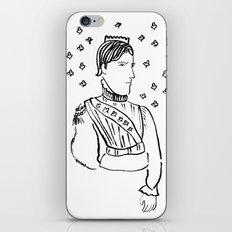 King of Clubs iPhone & iPod Skin