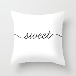 sweet dreams (1 of 2) Throw Pillow