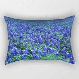 Field of Blue Rectangular Pillow