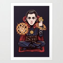 Doctor Stranger Art Print