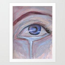 Cool Sorrow Art Print
