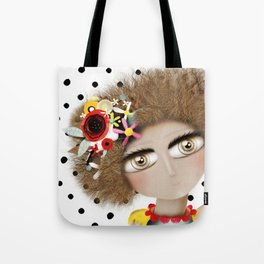 I can not take my eyes out of you Tote Bag