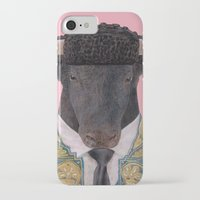 spanish iPhone & iPod Cases featuring Spanish Bull by Rachel Waterman
