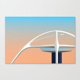 LAX Theme Building Canvas Print
