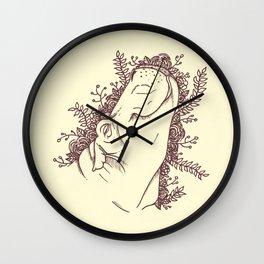 Fabulous Hippo Wall Clock