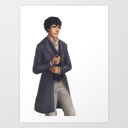 Will Herondale Art Print