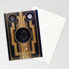 Vintage Art Deco Camera Stationery Cards
