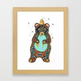 He's Still A Good Bear  Framed Art Print