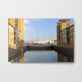 The O2 Arena Metal Print