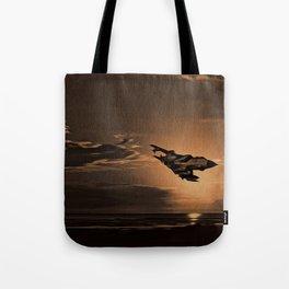 Tornado at Sunset (Digital Painting) Tote Bag