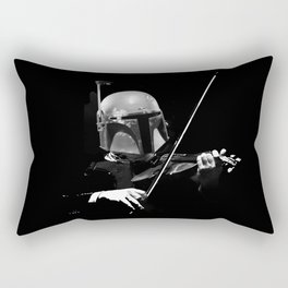 Dark Violinist Fett Rectangular Pillow