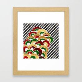 Christmas Luxe Framed Art Print