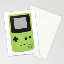Gameboy Colour Green Stationery Cards
