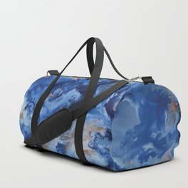 Depths of the Sea - Mixed Media Painting Duffle Bag
