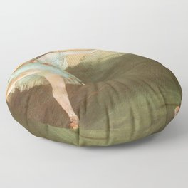 The Star Dancer On Pointe By Edgar Degas   Reproduction   Famous French Painter Floor Pillow