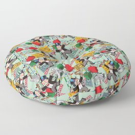 Investment Game Floor Pillow