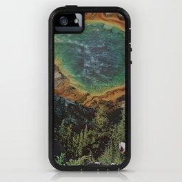 LONE TRAVELER iPhone Case