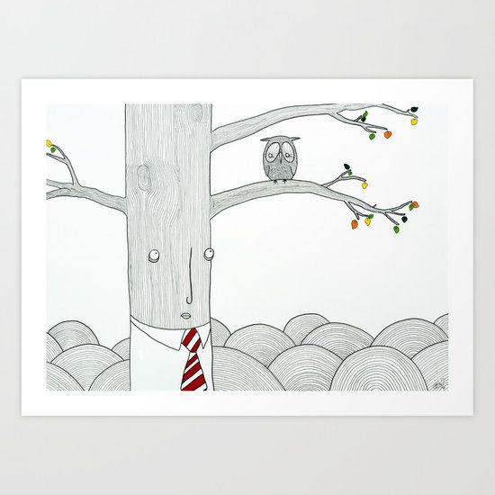 Evaluation Art Print
