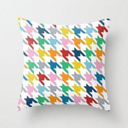 Dog T Throw Pillow
