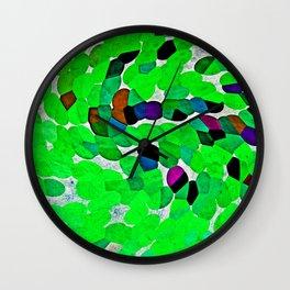 HARMONY IN GREEN Wall Clock
