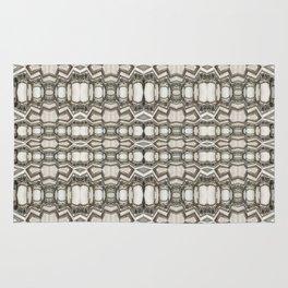 Sculpted Pattern Frieze Rug