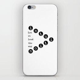 Intuiton iPhone Skin
