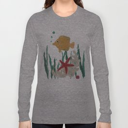 Angelfish, Starfish, Sea Creatures  Long Sleeve T-shirt