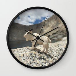 You Goat Me Wall Clock
