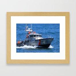 Coast Guard MLB Framed Art Print