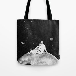 The greatest moon. Tote Bag