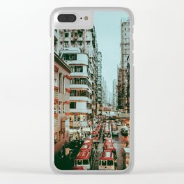 HONG KONG V Clear iPhone Case
