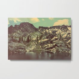 high sierras  Metal Print