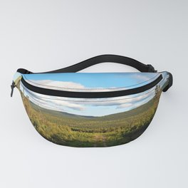 Big Skies over Mountain Trail Fanny Pack