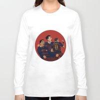 neymar Long Sleeve T-shirts featuring MSN by siddick49