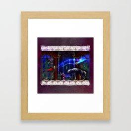 Castlevania Verboten Framed Art Print