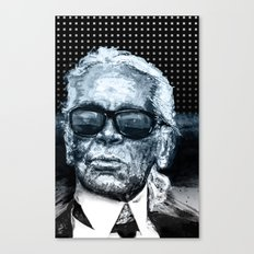 Karl Lagerfeld Canvas Print