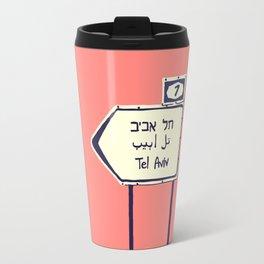 Tel Aviv This way Travel Mug