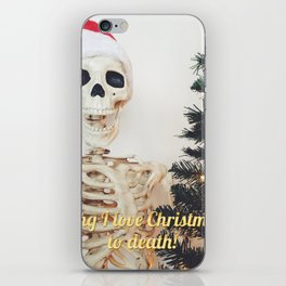 love xmas iPhone Skin