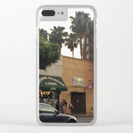 hollywood 2017 Clear iPhone Case