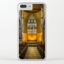 St Lawrence Hungerford Clear iPhone Case
