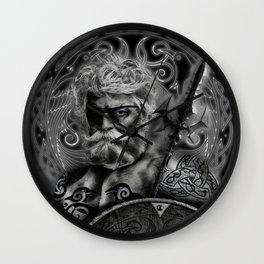 FATHER ODIN Wall Clock