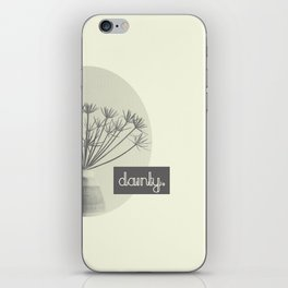 Dainty iPhone Skin