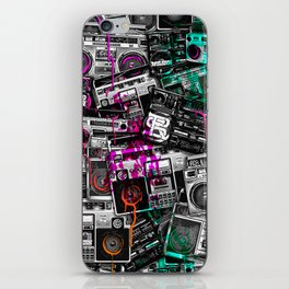 Ghetto Blaster 2 Royal Sain iPhone Skin