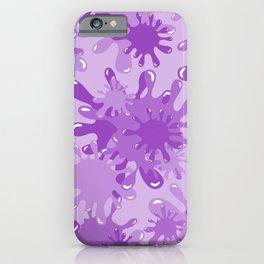 Slime in Lavenders iPhone Case